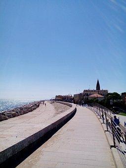 Along The Sea, Summer, Italy