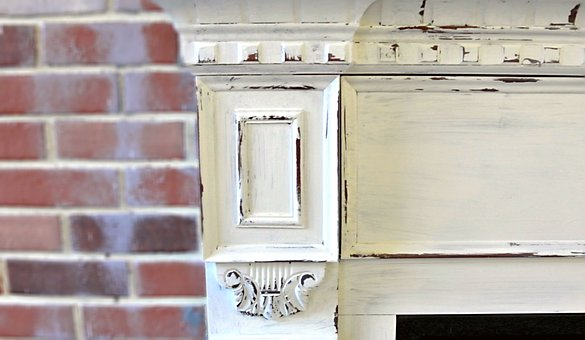 Antique, Fireplace, Brick, Home, Architecture, Old