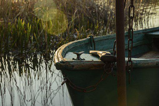Boat, Water, Lake, Nature, Waterfront, Fisher, Port