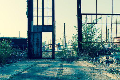 Lost Place, Industry, Lost Places, Factory Building