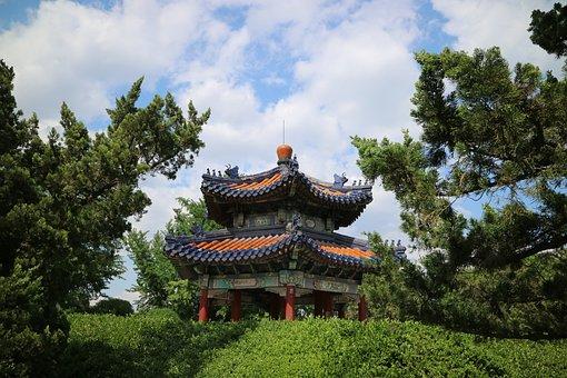 Spring, Gazebo, Pavilion, The Temple Of Heaven