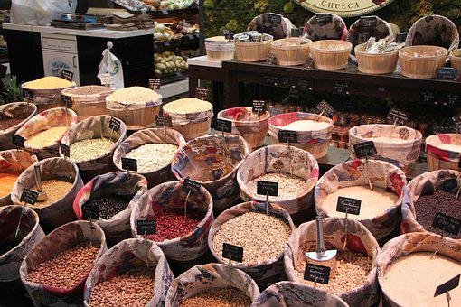 Market, Spices, Food, Pepper, Cooking, Organic, Fresh
