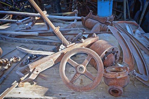 Wheel, Vintage, Metal, Retro, Cogwheel, Steampunk