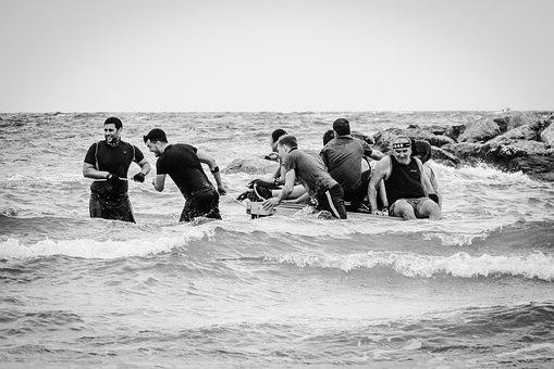 Team, Companions, Raft, Adventure, Event, Team Work