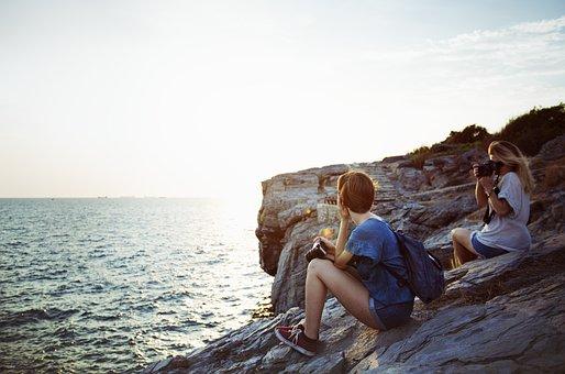 Freedom, Relax, Tranquil Scene, Girlfriends, Solitude