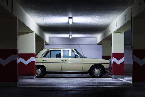 Underground Car Park, Urban, Auto, Automotive, Vehicle