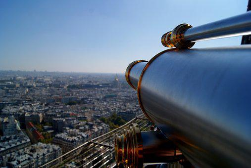 Paris, Views, Viewpoint, Eiffel Tower, Europe, France