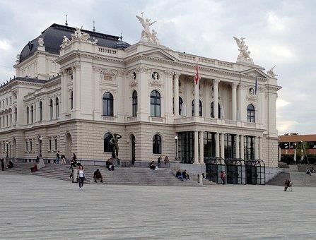 Zurich Opera House, Zurich, Switzerland, Architecture