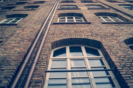Wall, Window, Building, Facade, Architecture