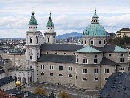 Salzburg Cathedral, Salzburg, Church, Austria
