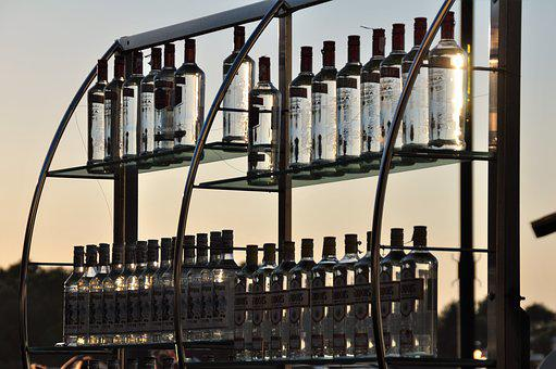 Bar, Bottles, Alcohol, Brandy, Drink, Beverages