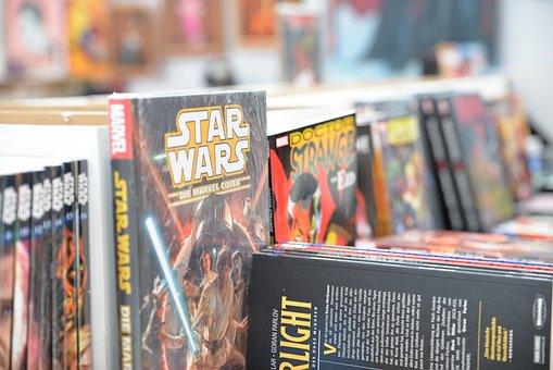 Comic-con, Comics, Books, Star Wars