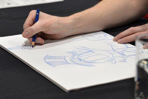 Drawing, Comic-con, Comic Book, Artist, Disney, Draw
