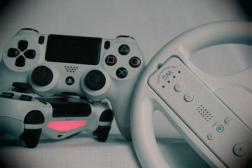 Gaming, Games, Gamepad, Ps4, Playstation, Console