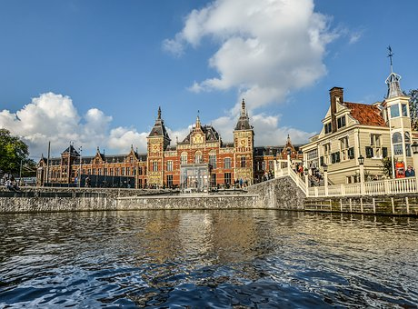 Holland, Amsterdam, Canal, Netherlands, Travel, Europe