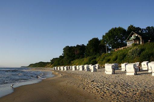 Sea, Usedom, Baltic Sea, Beach, Island Of Usedom