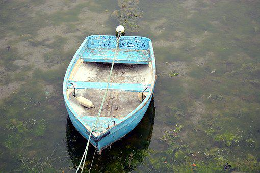 Boat, Water, Browse, Fishing, Blue, Lake, Transport