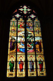 Dom, Cologne Cathedral, Landmark, Church, Window