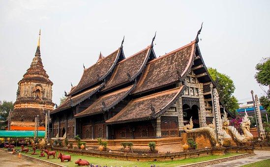 Measure, Chiang Mai Thailand, Pagoda, Ancient, Thailand