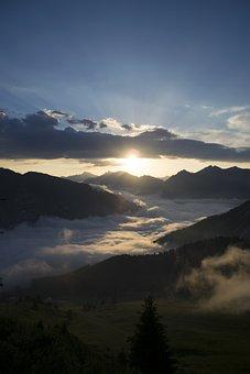 Sunrise, Sunset, Atmosphere, Mood, Nature, Golden
