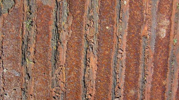 Rust, Texture, Soil, Metal, Worn