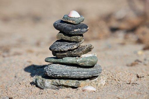 Beach, Stones, Shells, Sand, Sea, Sassi, Pebbles