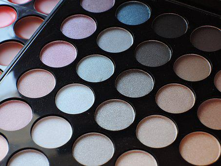 Cosmetics, Beauty, Palette, Makeup, Shadow, Visage