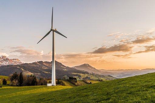 Wind Turbine, Wind Energy, Environmentally Friendly