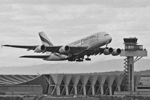 Aircraft, A380, Airbus, Passenger Aircraft, Fly, Flight