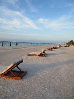 Beach, Holbox, Mexico, Island, Caribbean, Beauty, Sea
