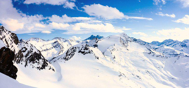 Grossglockner, High Tauern, View, Distant View