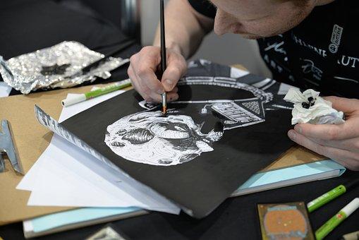 Artist, Drawing, Comic, Comic-con