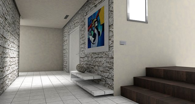 Floor, Gang, Input, Entrance Hall, Lichtraum, Gallery
