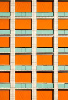 Front Window, Symmetry, Lines, Facade, Home, Building