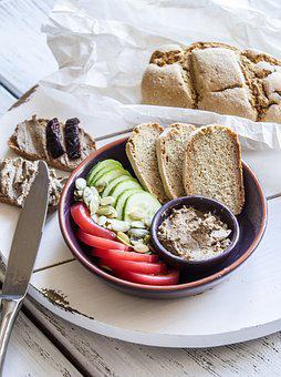 Bread, Food, Pate, Home, Breakfast, Baking, Delicious