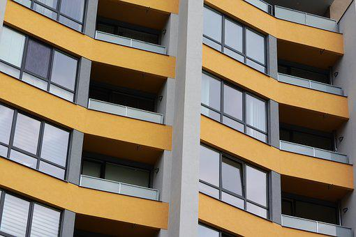 Architecture, Housing, Prefabricated House, Balconies