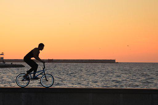 Cyclist, Sports, Bike, Sea, Order, Crimea, Cycling