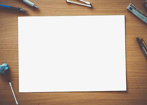 Paper, Blank, White, Empty, Page, Space, Design