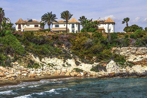 Cove, Beach, Sea, Resort, Villas, Scenery, Tourism