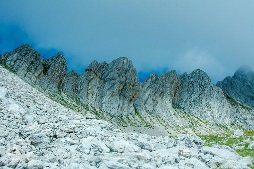 Mountains, Mountains Of Abkhazia, Abkhazia, Stones