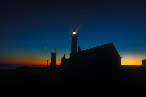 France, Light, Lighthouse, Structure, Architecture