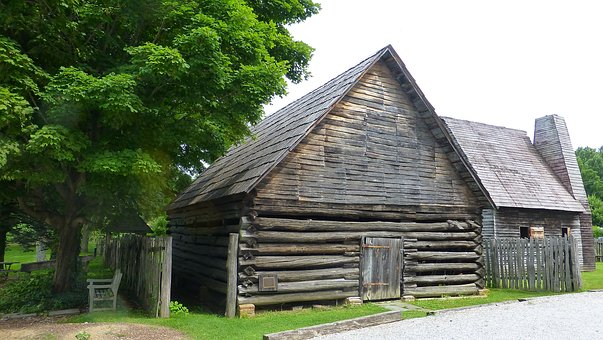 Barn, Structure, Wooden, Weathered, Plank