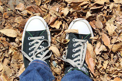 Teen, Converse, Black, Vintage, Man, Male