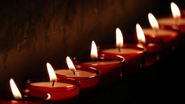 Tea Lights, Church, Light, Prayer, Candlelight, Faith