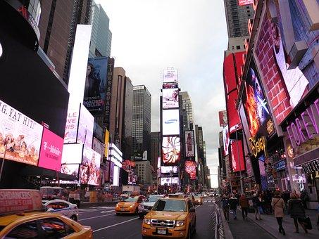 New York, New York City, Usa, Ny, City, Manhattan