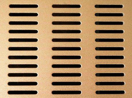 Forward, Ventilation, Holes, Slots, Background, Pattern