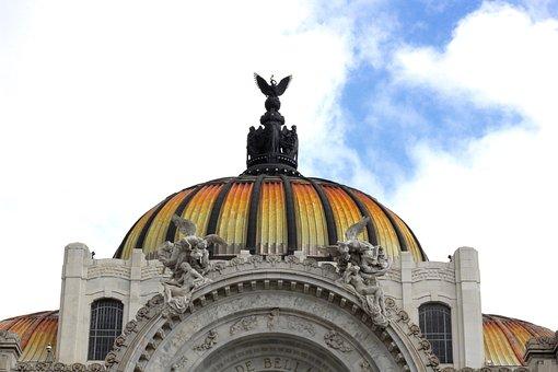 Museum, Mexico, Fine Arts, City, Architecture, Mexican