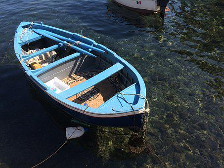 Rowing Boat, Boat, Fishing Boat, Boating