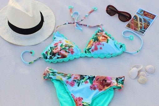 Swimsuit, Beach, Summer, Sea, Holiday, Sand, Ocean