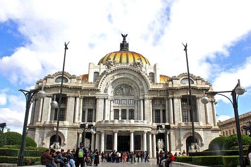 Mexico, Theatre, Fine Arts, Museum, City, Palace